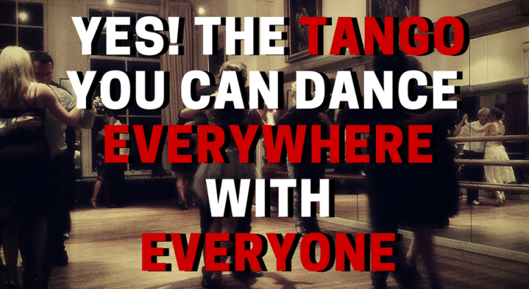YES YOU CAN DANCE EVERYWHERE WITHEVERYONE